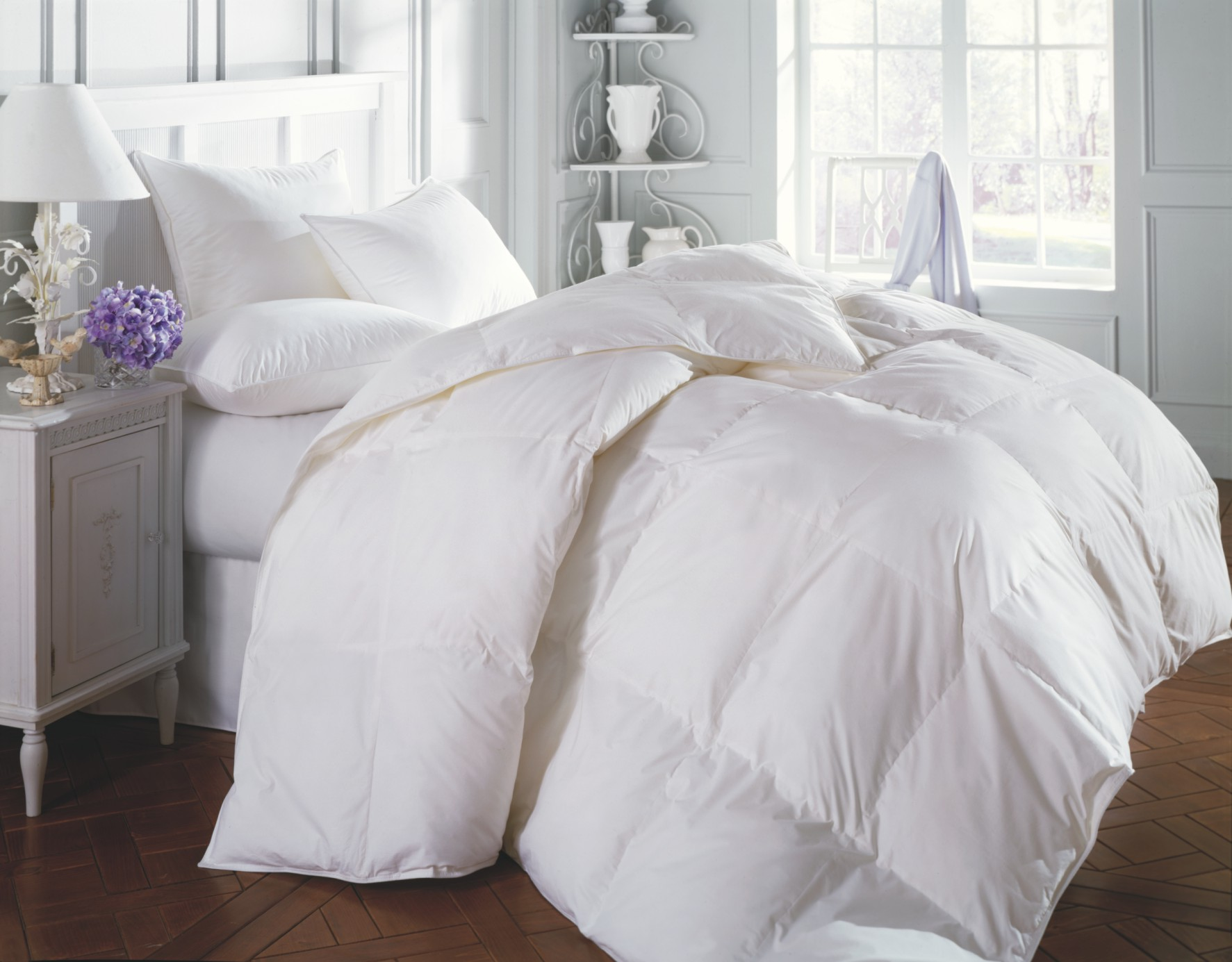 The Down Factory Store Offers Down Bed Comforters And